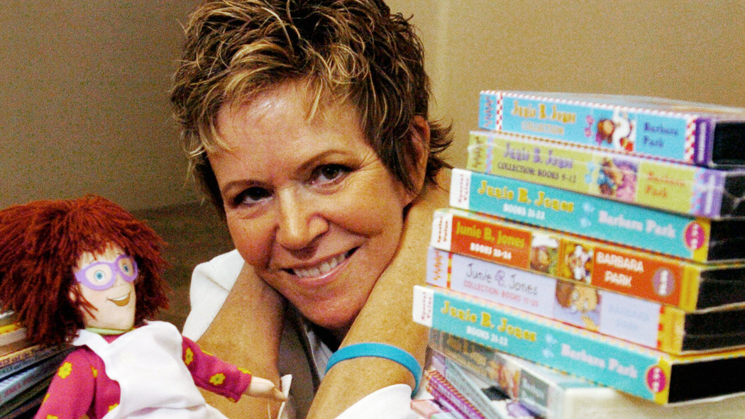 Barbara Park Author Of Junie B Jones Series Dies At 66