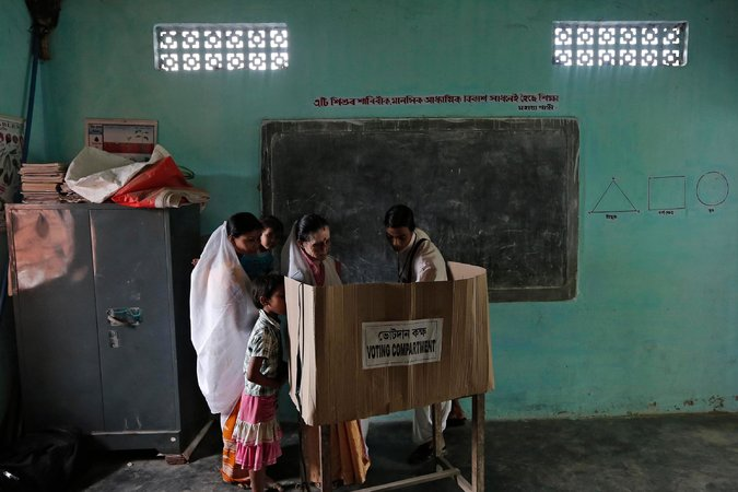 women voters voting india indian election nytimes change