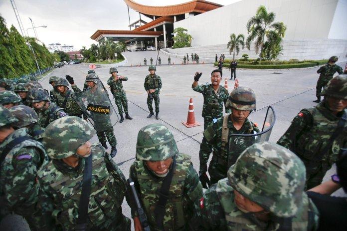 El ejército toma el poder el 22 de mayo de 2014   Fuente:  Athit Perawongmetha / Reuters