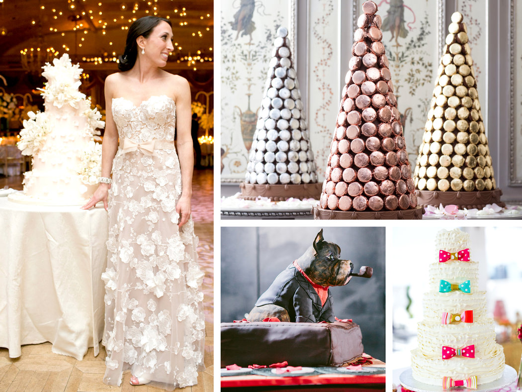Extravagant Wedding Cakes Rise Again The New York Times