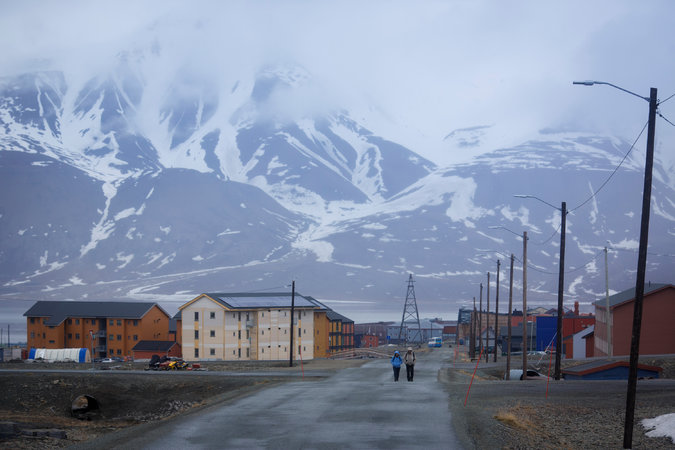 QUIET AND ISOLATED The Norwegian town of Longyearbyen in Svalbard prides itself on its crime-free streets. Residents, however, are required to carry weapons when they venture outside of town to fend off polar bears. Credit Kyrre Lien for The New York Times