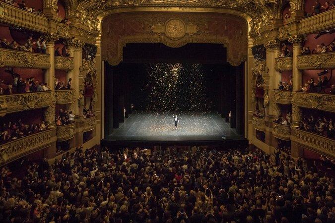 Nicolas Le Riche Gives Last Performance At Palais Garnier