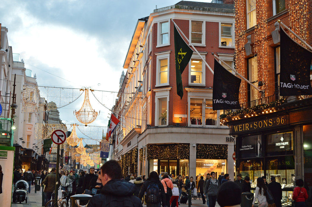 Christmas In Dublin Good Cheer And Great Deals The New