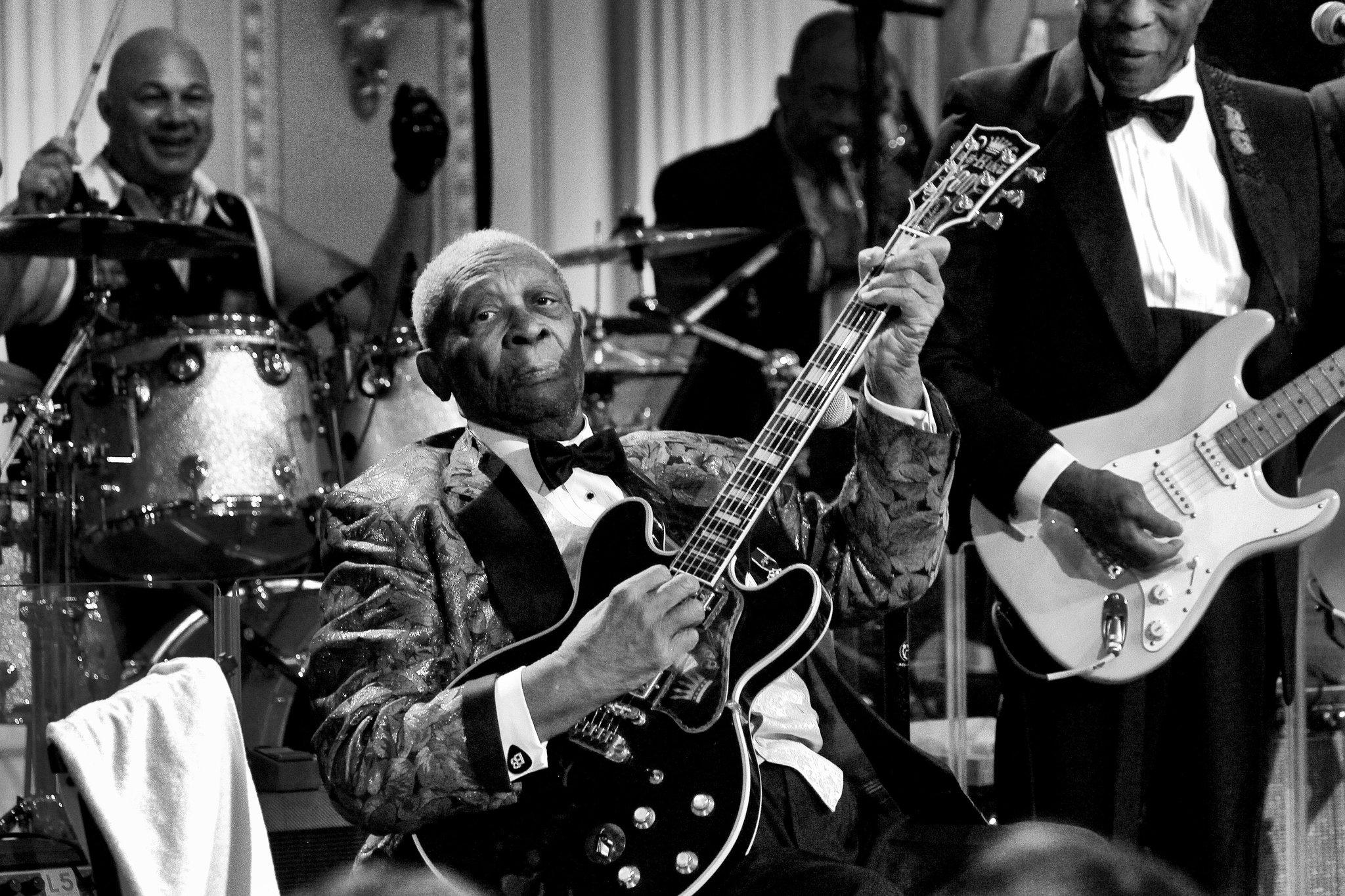 B B King Defining Bluesman For Generationss At 89