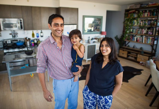 Arrun Kapoor And Sarah Rasheed At Home With Sufyan 2 They Bought The One Bedroom Next Door Plan To Convert It Into A Two Al