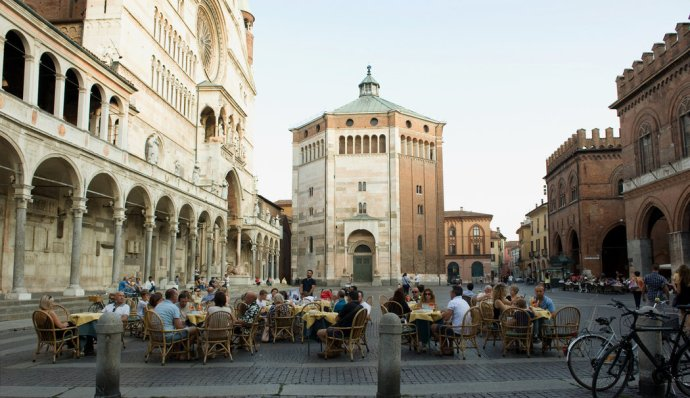 principais cidades da Itália Cremona