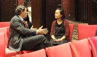 2014年末李真在北京见到蒂姆·德雷珀(Tim Draper)。