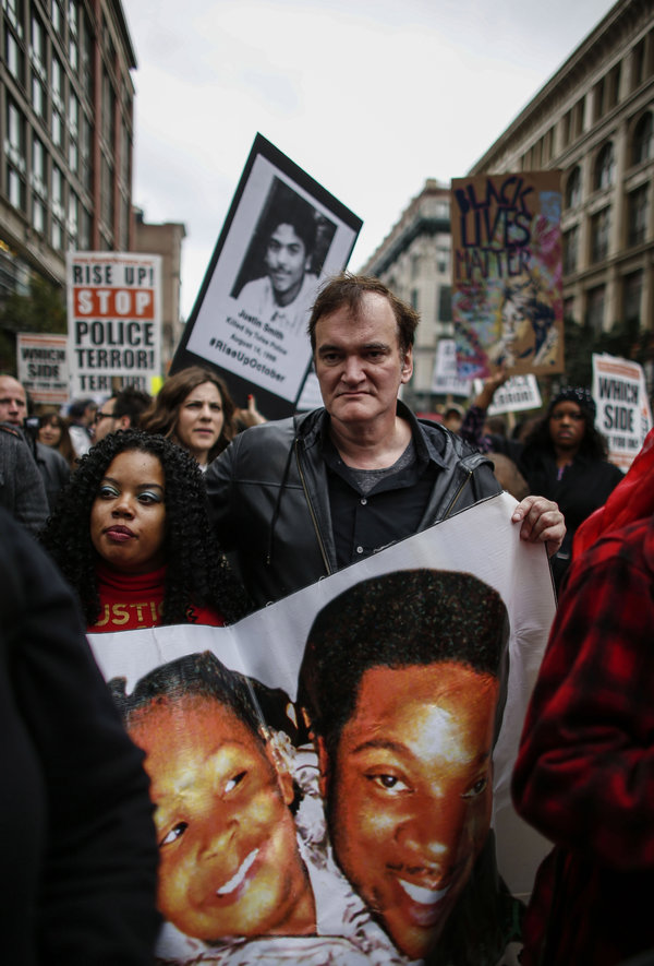 Officers Boycott Of Quentin Tarantino Films Growsofficers Boycott Of Quentin Tarantino Films Grows