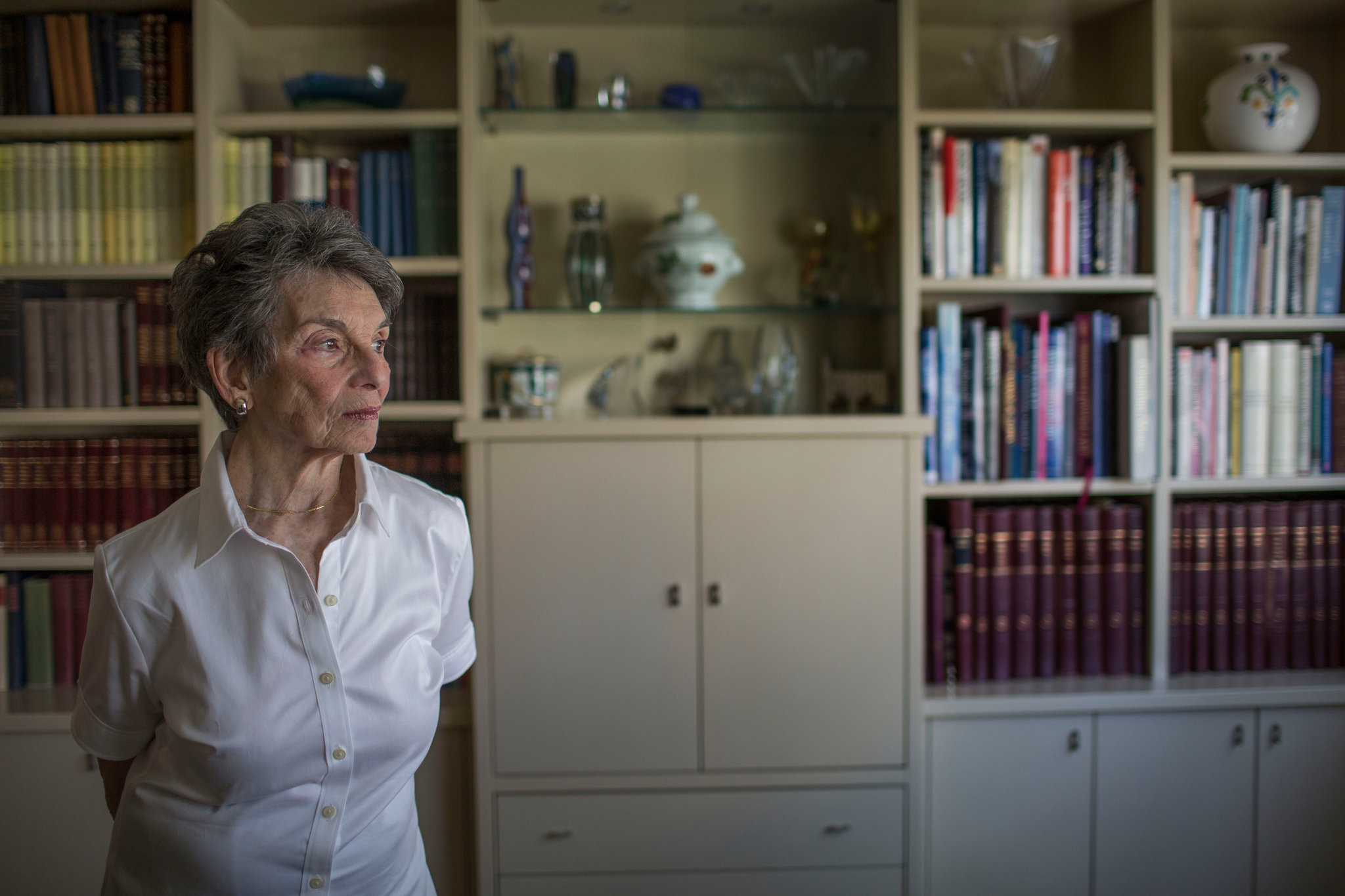 Renee Rabinowitz, photo by Uriel Sinai for The New York Times