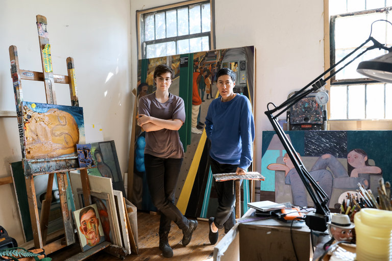A Conversation With Nicole Eisenman And Grace Dunham The