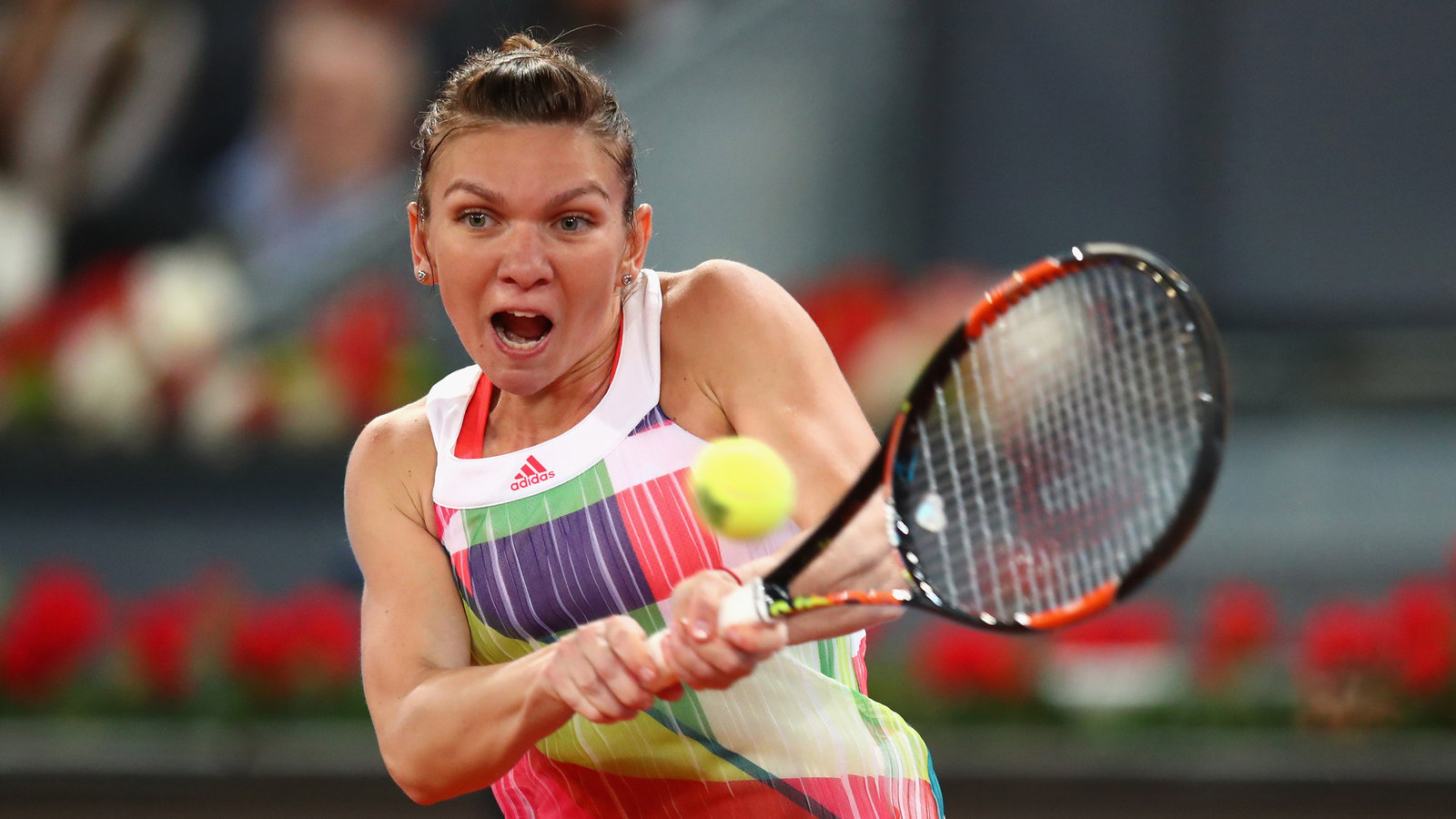 Simona Halep Wins On Romanian Day In Madrid The New York