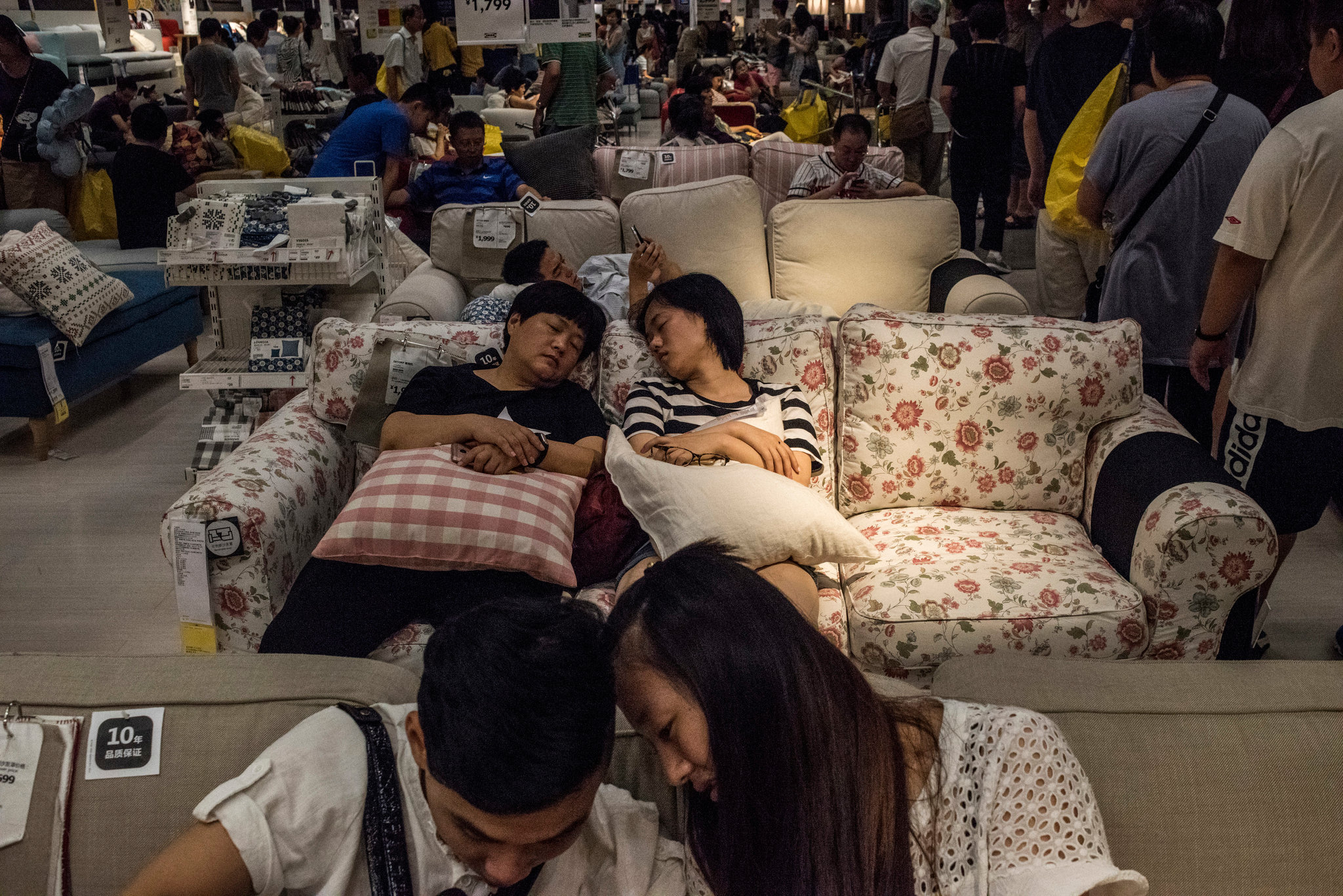 Shh Its Naptime At Ikea In China The New York Times