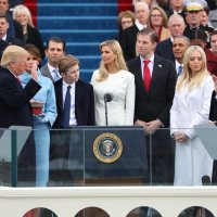 Donald Trump Inauguration: Trump Takes Oath of Office by LAURIE GOODSTEIN, JEREMY W. PETERS, EMMARIE HUETTEMAN and MATTHEW ROSENBERG