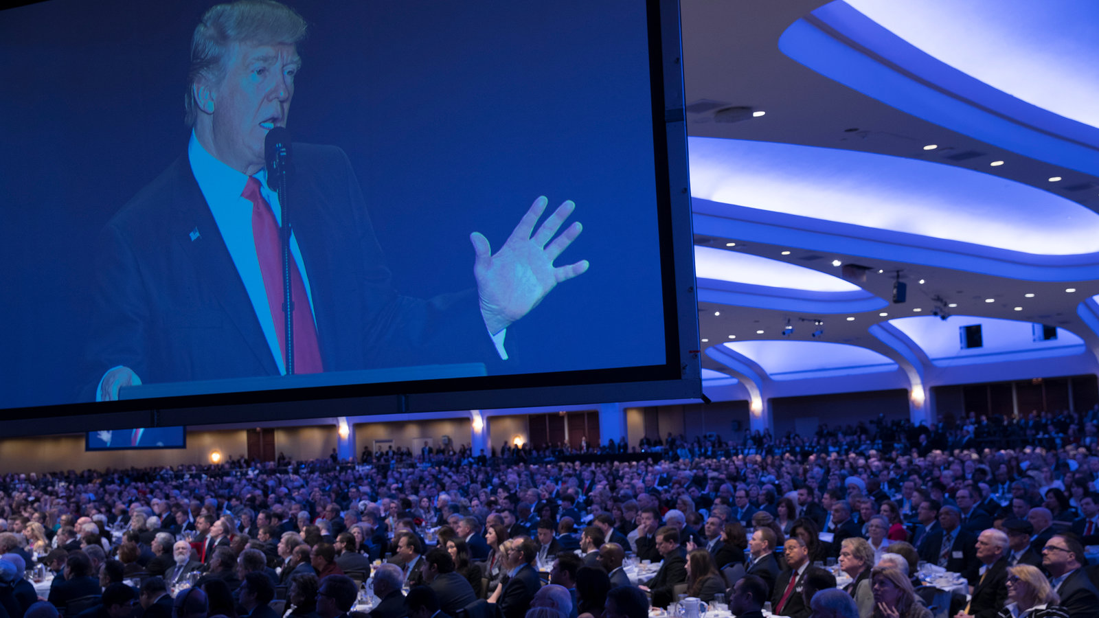 Trump Vows To Destroy Law Banning Political Activity By Churches