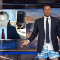 Trevor Noah Has a Theory About the BBC Interview Dad: No Pants by GIOVANNI RUSSONELLO