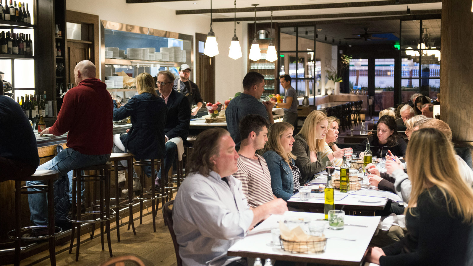New Restaurants Pop Up In East End The New York Times