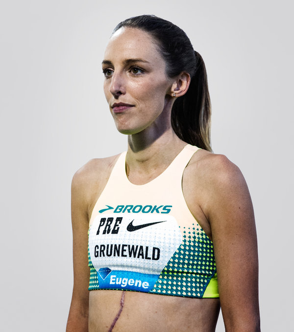 Chemotherapy Then The U S Championships For Gabriele Grunewaldchemotherapy Then The U S Championships For Gabriele Grunewald