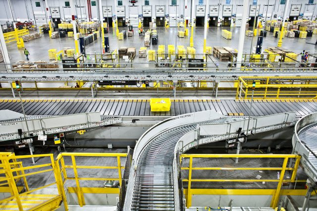 Image result for Amazon factory