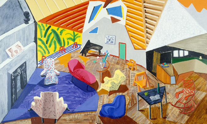 David Hockney Contrarian Shifts Perspectives The New