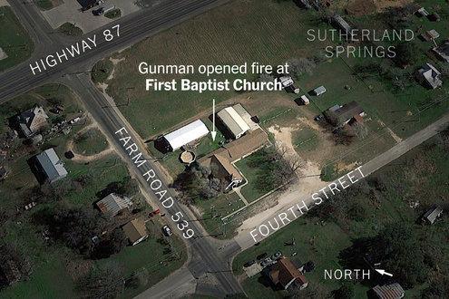 texas church shooting 1509916787452 master495 v2 - Texas Church Shooting Leaves at Least 26 Dead, Officials Say