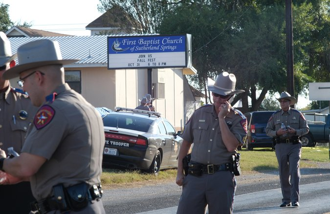 merlin 129738767 a4eb3d9f 9e2d 4458 bf72 b23b945187a3 master675 - Texas Church Shooting Leaves at Least 26 Dead, Officials Say