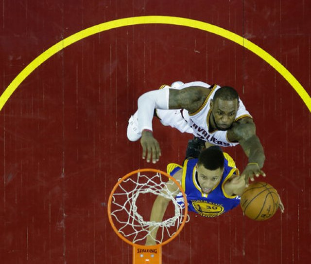 Stephen Curry Of The Warriors And Lebron James Of The Cavaliers Have Faced Off In N B A Finals In Three Consecutive Seasons Thursdays All Star Draft Had