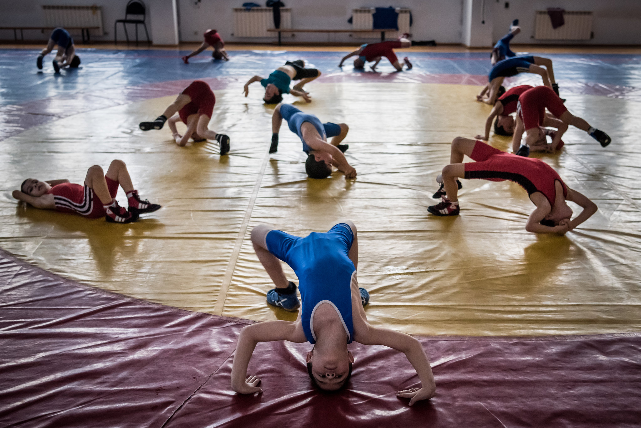 A Wrestling Culture That Helps Keep Boys Away From