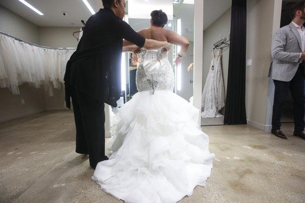Dress Designers Add Options For Plus-Size Brides