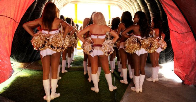 Redskins Cheerleaders Describe Topless Photo Shoots and an ...