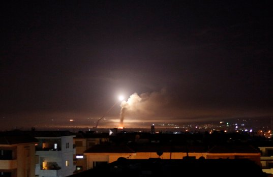 missile attack syria
