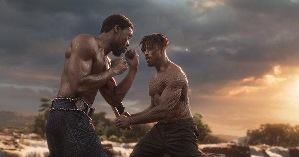 Black Panther vs Killmionger