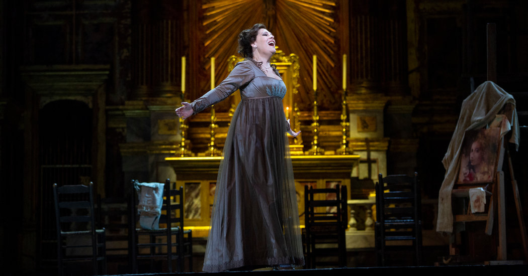 Review Tosca Is Sondra Radvanovsky S Show At The Met