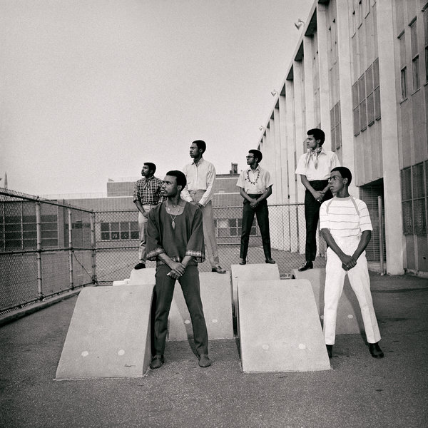 Untitled (Men at photoshoot at a school in the 1960s), 1966.