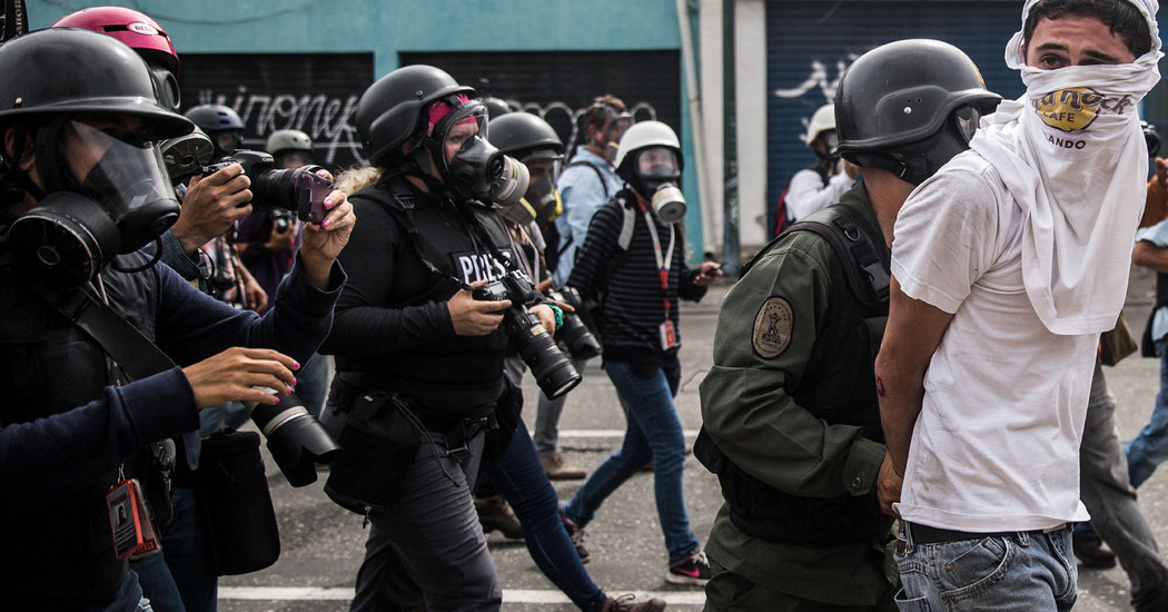 Starving Babies, Molotov Cocktails and Death Threats: One Photojournalist's Venezuelan Reality