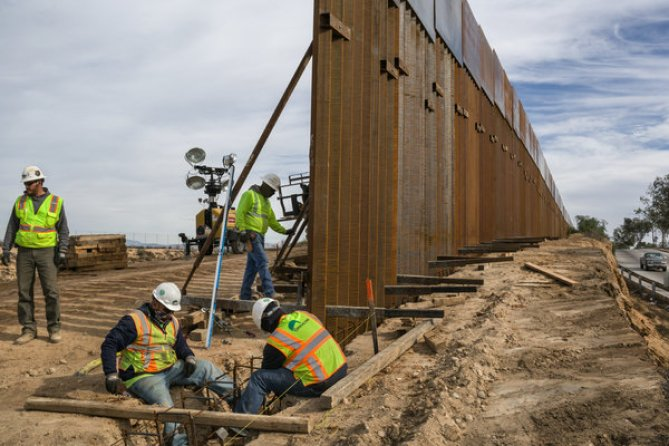 Image result for border wall