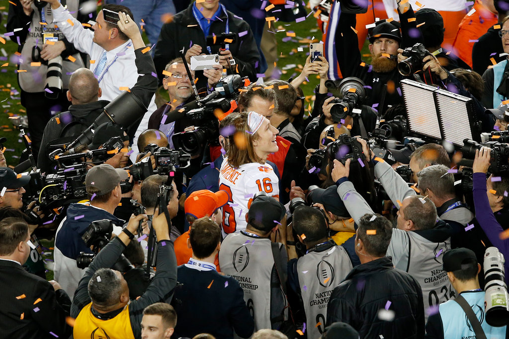 Clemson Leaves No Doubt In National Championship Thrashing Of Alabama The New York Times