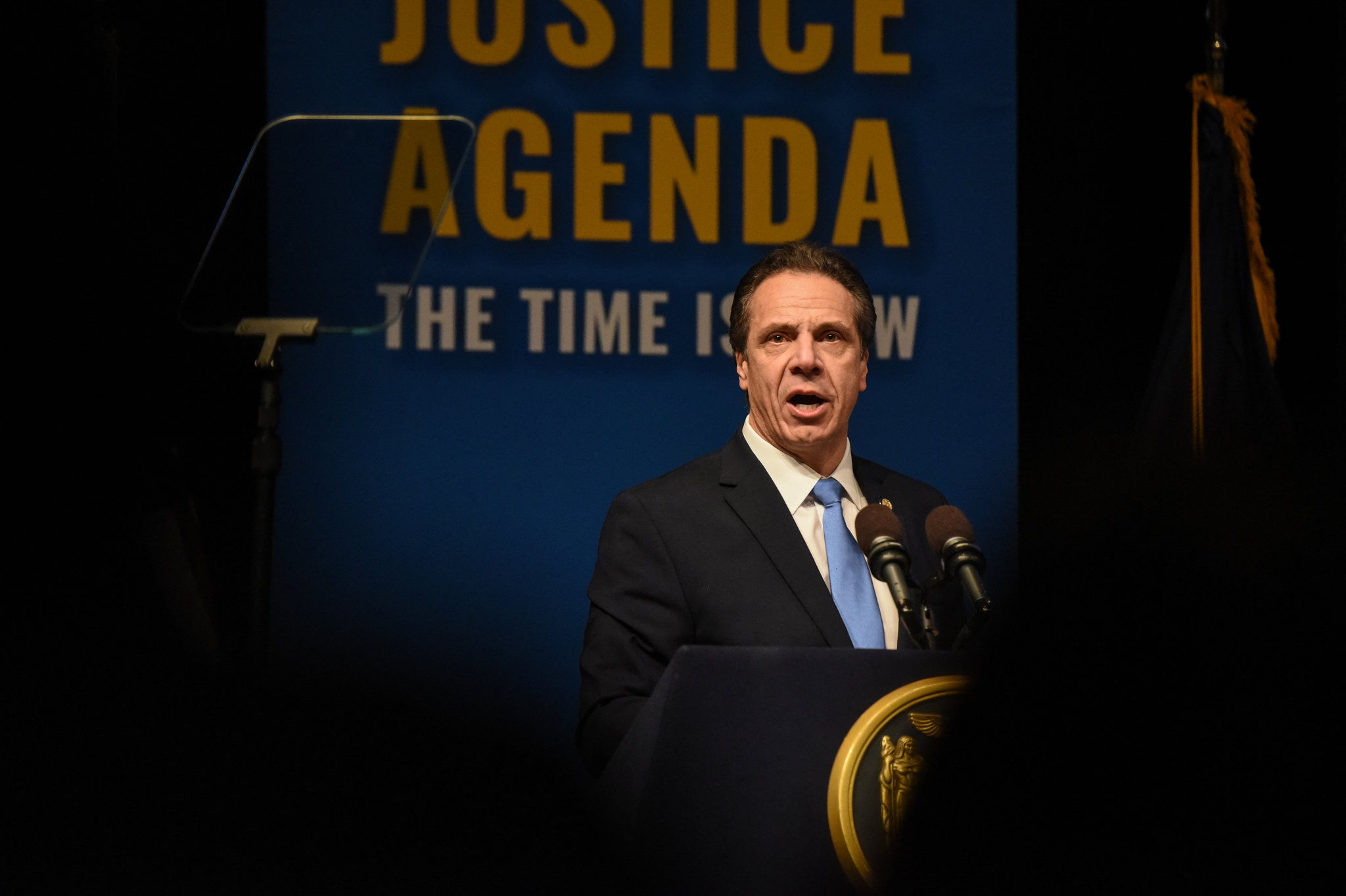 State Governor Andrew Cuomo