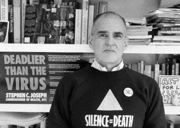 Larry Kramer, Playwright and Outspoken AIDS Activist, Dies at 84