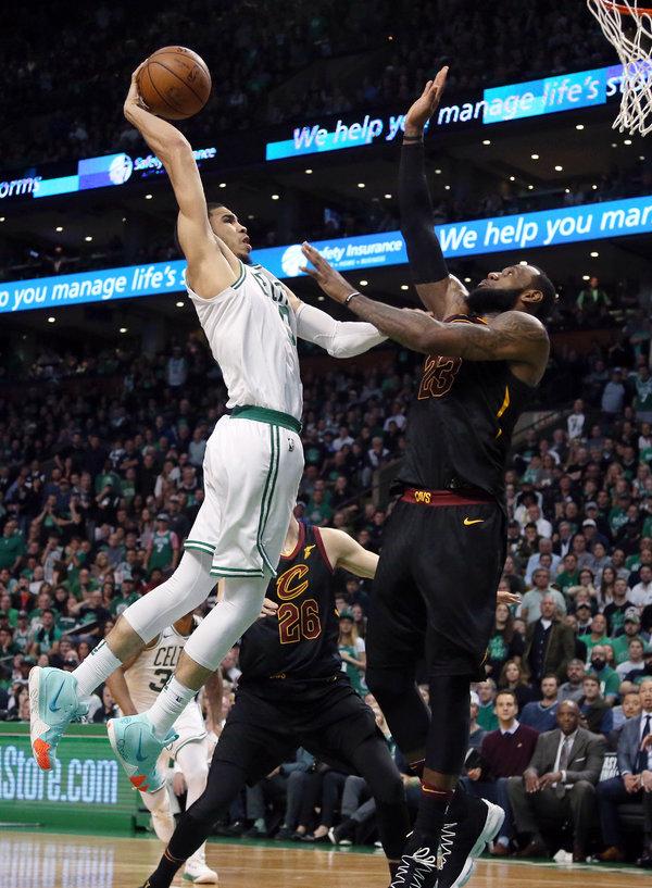 https www nytimes com 2019 04 17 sports boston celtics jayson tatum pacers html
