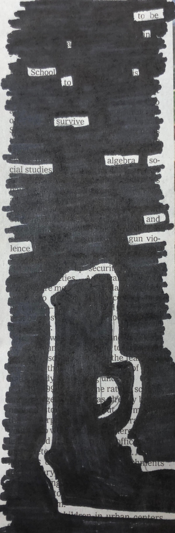 Winners of Our Blackout Poetry Contest - The New York Times
