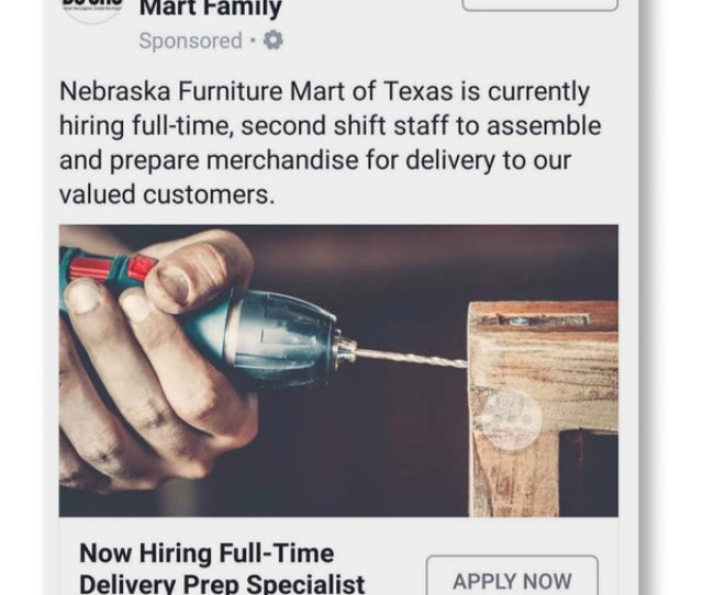 Sample Job Offer Letter Acceptance, Facebook Has Agreed Not To Let Advertisers Screen Out Minority Groups Women Or Older Job, Sample Job Offer Letter Acceptance