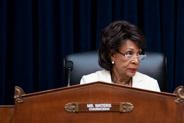 Maxine Waters, the chairwoman of the House Financial Services Committee, has scheduled a hearing on the Libra cryptocurrency.