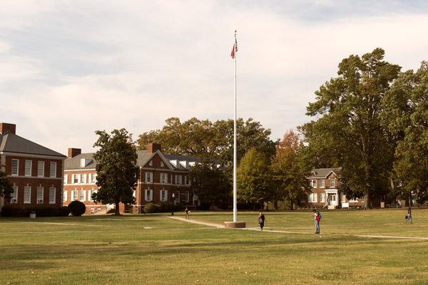 The main quad of Bennett College.