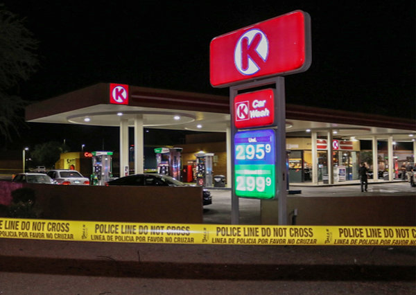Windows Phone: The Circle K convenience store in Peoria, Ariz., where a 17-year-old boy was stabbed to death on Thursday. The suspect in the killing was released from prison just days before, the police said.