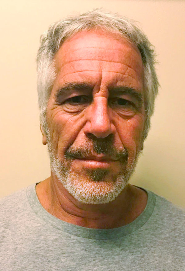 Mr. Epstein in a photo provided by the New York State Sex Offender Registry.