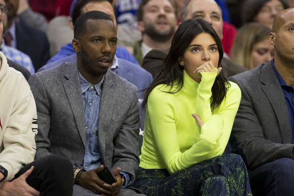 The agent Rich Paul watched an N.B.A. game between the Denver Nuggets and Philadelphia 76ers in February.
