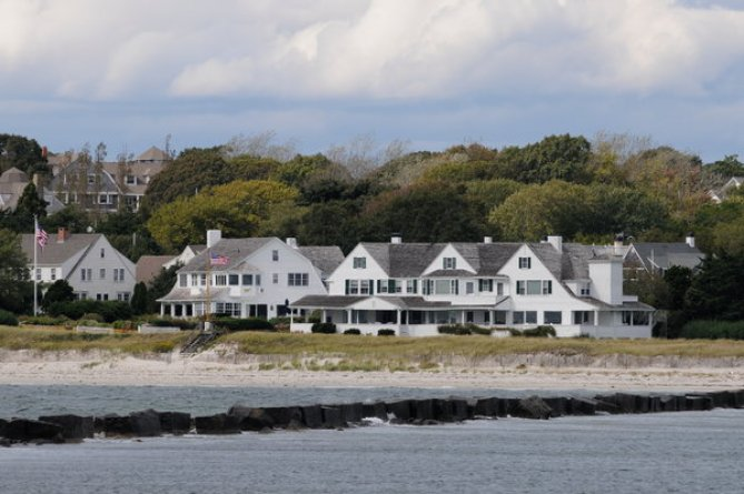 The Kennedy compound in Hyannis Port, Mass.