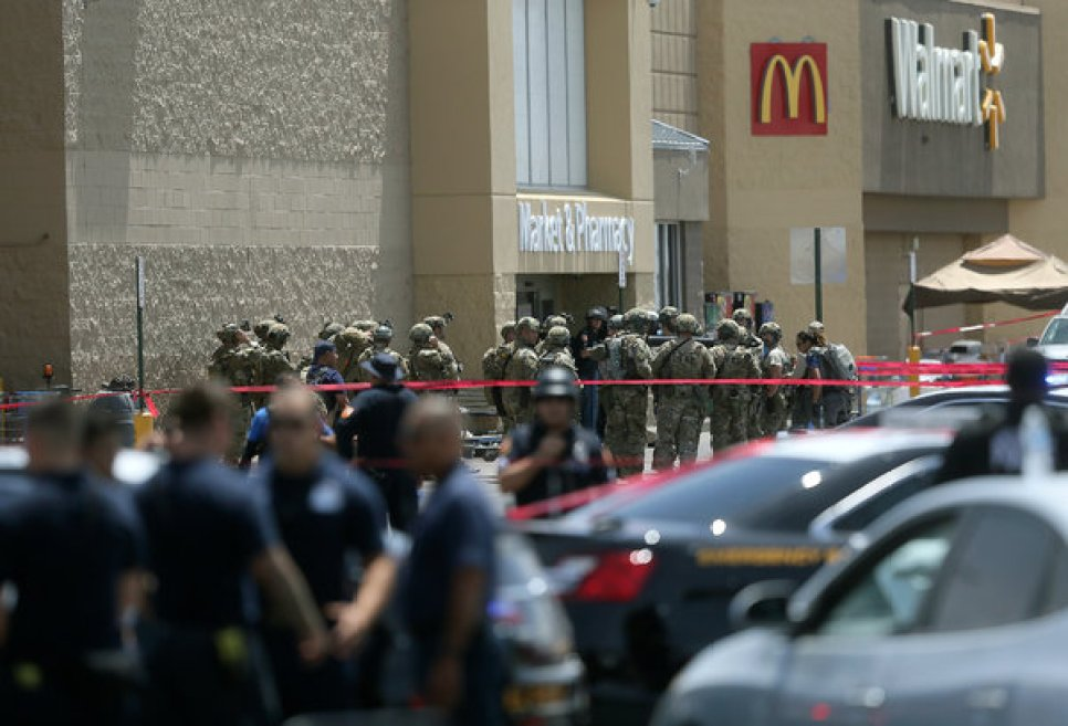 The gunman killed 20 people and wounded at least 26 others before surrendering to the authorities.