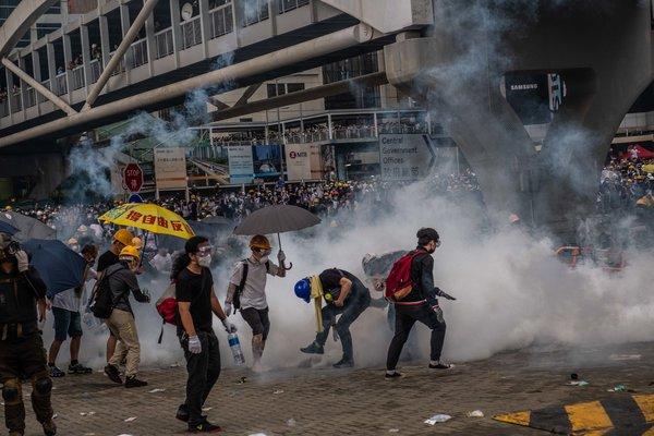 La protesta del 12 de junio, en la que la policía utilizó gases lacrimógenos y golpeó a manifestantes desarmados, fue un parteaguas.