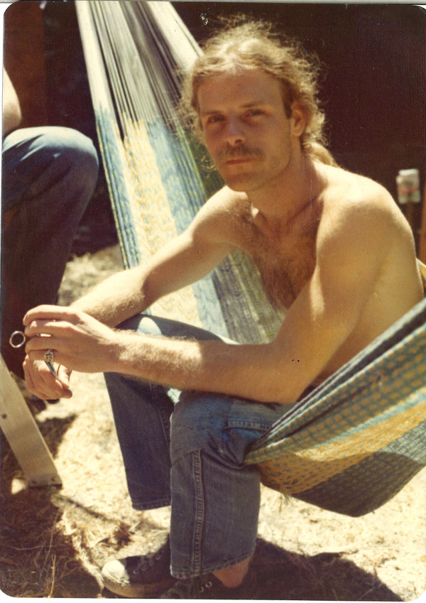 When Paul was a young hippie.